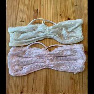 ✨HP✨ NWOT Free People Intimately Lace Bandeaus